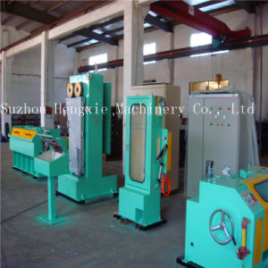 Hxe-17mdst Copper Wire Drawig Machine with Annealing pictures & photos