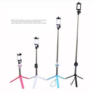 New Mini Tripod Bluetooth Telescopic Selfie Stick Monopod pictures & photos