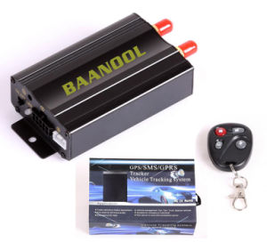 Engine Cut off Car/ Vehicle GPS Tracker Tk 103A, GPS Tracker with Fuel Detecting pictures & photos