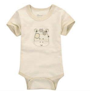 2015 Season Cotton Printed Lovely Baby Clothes pictures & photos