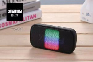 Fashion Modal Free Shipping Portable Bluetooth Wireless Speaker Subwoofers Support TF Card with Colorful LED Lights Beautiful
