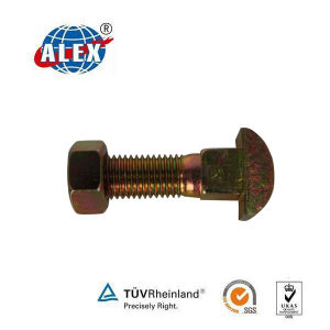 High Tensile Track Bolt with Nut pictures & photos