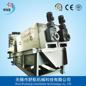 Volute Sludge Dewatering Machine for Wastewater Treatement