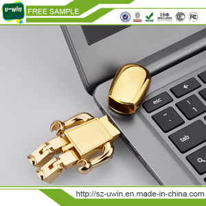 Customer Logo Metal Pen USB Drive pictures & photos
