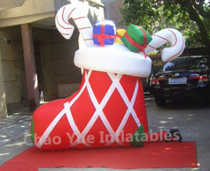 2015 New Inflatable Sock Toys for Christmas Decoration pictures & photos