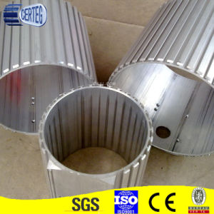 Round Aluminium extrusion gear wheel Profile pictures & photos
