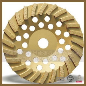 Turbo Diamond Grinding Plate Disc for Stone Concrete pictures & photos