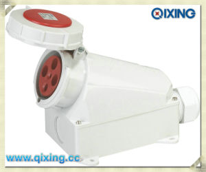 Cee/IEC Wall Mounted Industrial Socket for (QX132) pictures & photos