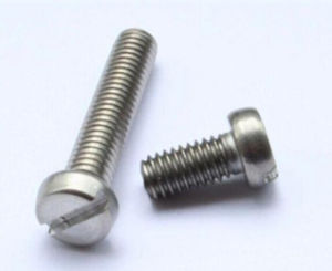Carbon Steel Cheese Head Machine Screw DIN 84 pictures & photos