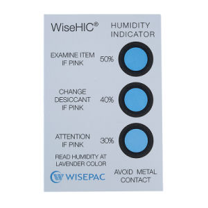30%-50% Cobalt (HIC) Humidity Indicator Card (WiseHIC) pictures & photos