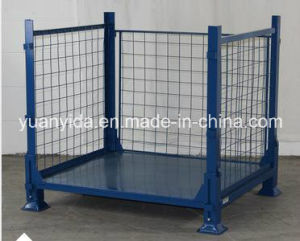 4-High Stackability Powder Coating Wire Container pictures & photos