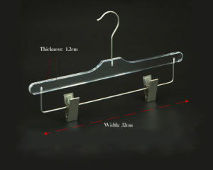 2016 Hot Selling Custom Acrylic Hanger, Acrylic Clothes Hanger pictures & photos