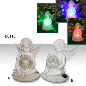 Angel Hold Ball Garden Outdoor Solar Light pictures & photos