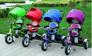 2016 Hot Selling Best Quality Cheap Fancy Baby Pram Baby Stroller, Softtextile Baby Tricycle Baby Buggy, Baby Stroller 3 in 1 pictures & photos