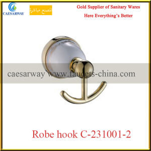 Sanitary Ware Bathroom Accessories Golden Double Bar pictures & photos