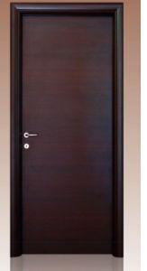 Black Walnut Flush Design Wooden Door pictures & photos