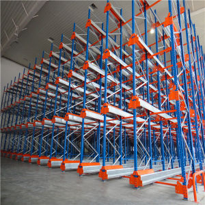Industrial Cold Storage Warehouse Selective Radio Shuttle Racking pictures & photos