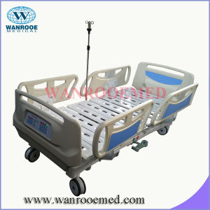 Bae500 Hospital furniture Five-Function ICU Clinic Bed with Linak Motor pictures & photos
