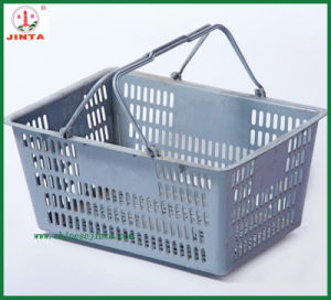 Factory Direct Wholesale Cheap Plastic Shopping Trolley (JT-G10) pictures & photos
