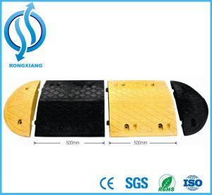 Hot Sale Rubber Speed Hump for Roadway and Parking Lot pictures & photos