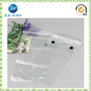 Wholesales Customized Logo Print Transparent PVC Packing Bag (JP-plastic040) pictures & photos
