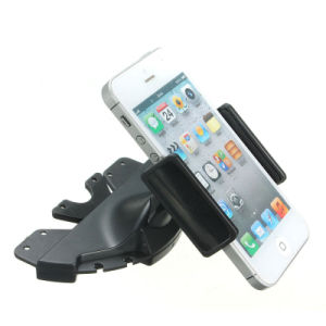 360 Degree Rotation Car CD Player Slot Plastic Clamp Holder pictures & photos