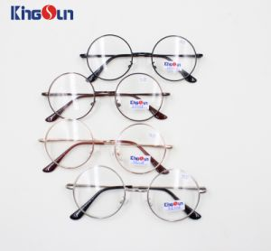 High Grade Classic Designer Glasses Selling Handmade Eyeglasses with Round Frames pictures & photos
