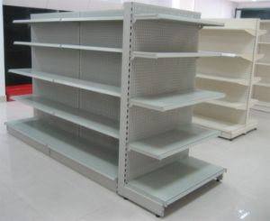Standard Steel Supermarket Display Shelf pictures & photos