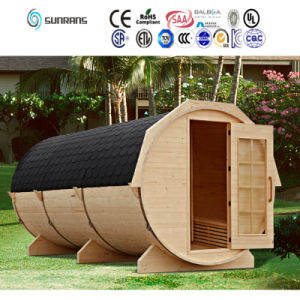 2015 New Design Wooden Barrel Infrared Saunas Room (SR158) pictures & photos