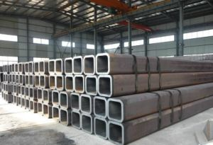 Superior Quality Q345 ERW Black Square Tube with ASTM DIN JIS Standard pictures & photos