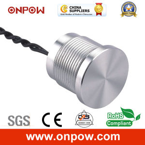Onpow 19mm Piezoelectric Switch (PS193P10YSS1, CCC, CE) pictures & photos