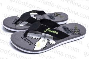 2016 Printing Man Slipper Fashion EVA TPR Shoes (RF15012)