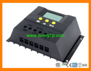12V/24V/48V 40A PWM Solar Charge Controller with LCD Screen pictures & photos