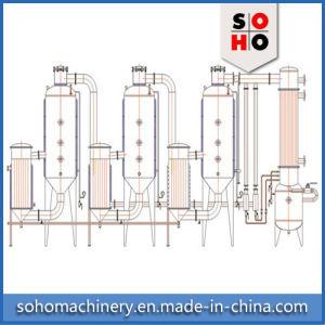 High Efficient Vacuum Raising Film Single Stage Evaporator pictures & photos