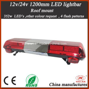 Police Red Warning Bar Light with Speker in The Middle of The Bar Light pictures & photos