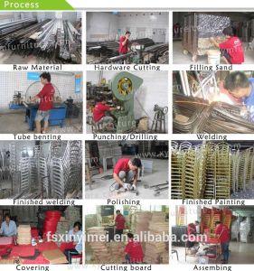 Hotel Banquet Restaurant Metal Aluminum Chair (XYM-L127) pictures & photos