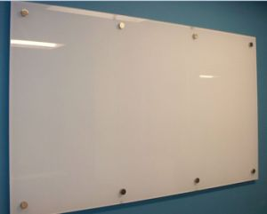 5mm Tempered Glass Marker White Board with En12150 pictures & photos