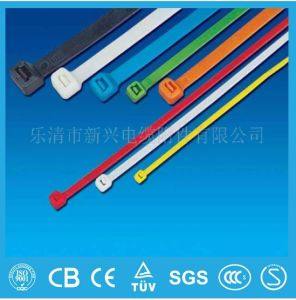 UL RoHS Passed Self-Locking Nylon Cable Tie Manufacturer Cheap Prices pictures & photos