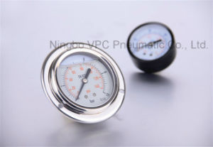 Pressure Gauge Air Gauge Pneumatic Pressure Gauge pictures & photos