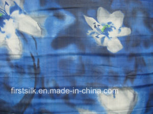Mulberry 100%Silk Chiffon Digital Printed Fabric pictures & photos