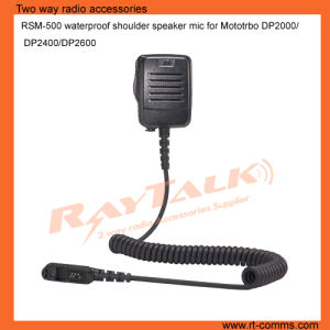 Waterproof Public Safety Speaker Microphone for Motorola Dp2400 pictures & photos
