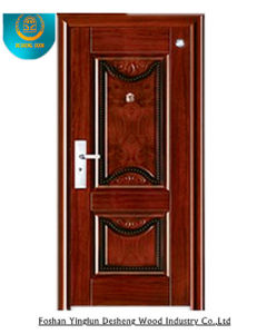 Simplestyle Steel Door with Carving for Interior (GS-8085) pictures & photos