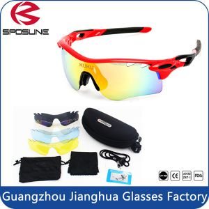 Outdoor Promotional Biking Custom Printed Len Multicolor Tr90 Frame Material Cycling Driving Volleyball Sunglasses pictures & photos