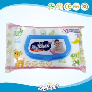 Baby Wet Wipes for Hand and Mouth Use pictures & photos