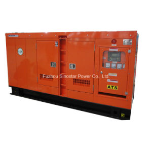 Soundproof Diesel Generator 90kVA 72kw with Deutz Water Cooled Engine pictures & photos