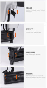 14 Gauge Pneumatic Concrete Nailer Finish Nail Gun pictures & photos