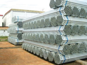 Pre-Galvanized Round Steel Pipe pictures & photos