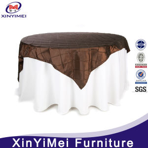 China Manufacturing Double Layer Wedding and Hotel Table Cloth pictures & photos