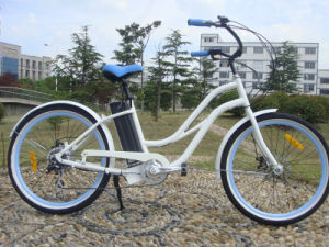 Chinese Lady Beach Cruiser Bicycle 36V 250W pictures & photos