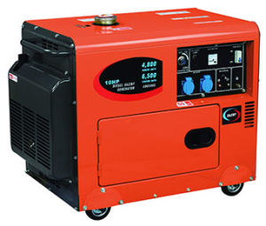 Silent Type 5kw Diesel Generator (WKD6500CE) with CE Soncap pictures & photos